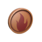 Quality 6 Class Token - Pyro (5009)