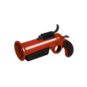 Gore-Spattered Flare Gun